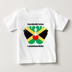 #party - #Everybody Loves A Jamaican Baby Jersey T-Shirt