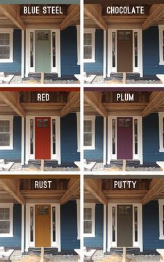 picking an exterior paint color - Exterior House Colors Blue