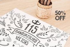 Check out 115 Handsketched Vector Elements Kit by Layerform on Creative Market