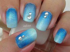 Azules degradadas