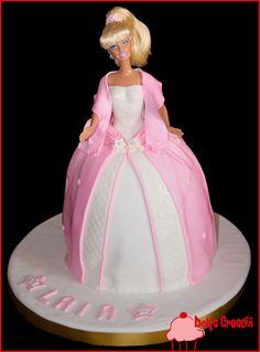 Tarta Barbie rosa