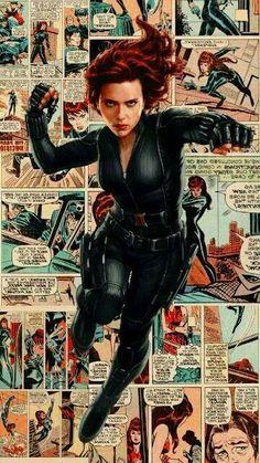 Natasha Romanoff - parte 5 - Wattpad Heros Comics, Marvel Dc Comics, Marvel Heroes, Marvel Characters, Marvel Movies, Scarlett Johansson, Black Widow Scarlett, Black Widow Natasha, Marvel Women