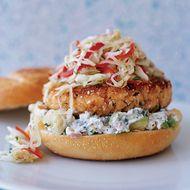 Food & Wine: Seafood Burgers