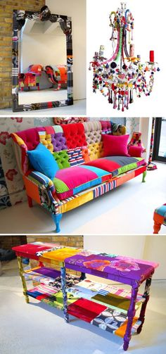 #sofa#multicolored,#oh dear god , rarely if ever happy or excited by any sofa ,this one would be worth the the trip to London,but how to get it home???? @Holly Becker