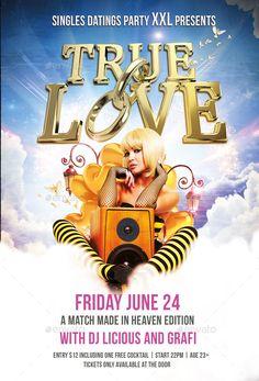Flyer True Love Party
