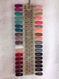 Picture 5 of 11 Sns Nails Colors, Color For Nails, Gel Polish Colors, Gel Color, Best Acrylic Nails, Uv Gel Nails, Gel Manicure, Toe Nails, Manicure Ideas