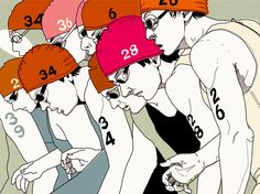 Triathlon Magazine - Peter Mac Illustration