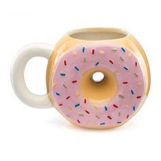 I ❤️ cute mugs 🍩 Coffee Type, My Coffee, Coffee Mugs, Cute Mug, Cool Mugs, Objet Wtf, Novelty Mugs, Pottery Mugs, Funny Mugs