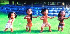 a little boy is doing the dance from Lilo and stitch