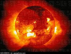 X ray image of Sun
