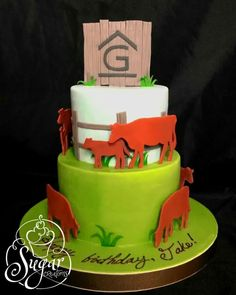 Red Angus cow birthday cake                                                                                                                                                                                 More