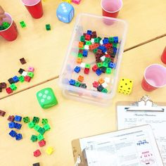 So much fun playing Fill The Cup today! So many early number strategies being explored including One-to-One Correspondence, Subitizing, and Cardinality!  #kindiekorner #kindergarten #teachersofinstagram #teachersfollowteachers #iteachk #iteachtoo #math #mathgames #earlylearning101
