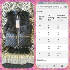 Faux Leather and fur vest 100% VEGAN FUR 100% Polyester. ....shell and lining Yoki Jackets & Coats Vests