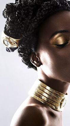 One of the hottest trends of 2020, chunky gold jewelry is a simple way to upgrade any look. From thick chains to sizable arm candy, the trend can be found in unique shapes and textures, whether ribbed or braided. Ahead, shop our curated selection of the best earrings, necklaces, bracelets, and anklets featuring the season's must-have trend. Bonus: A daily dose of gold is sure to put a smile on your face. Chunky Jewelry, Gold Jewelry, Jewellery, Fashion Line, Fashion Beauty, Gold Plated Bracelets, Bar Earrings, Jewelry Trends, Beauty Women
