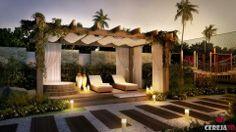 Soñado Gazebo Pergola, Wood Pergola, Outdoor Life, Outdoor Gardens, Outdoor Living, Photography Studio Spaces, Cute Garden Ideas, Pool Cabana, Backyard Paradise