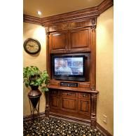 Photo Gallery - TV Cabinets - 714-573-1700 - Pearlworksinc.com Dressing Table Wooden, Exterior Design, Interior And Exterior, Flexible Molding, Decorative Mouldings, Tv Cabinets, Photo Galleries, Hardwood, Carving