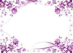 pink flower frames and borders - Google'da Ara