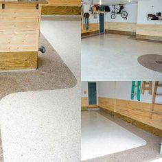 3 car #garage renovated using our epoxy garage #flooring kit. #renovation