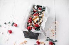 Marjaisa semifreddo Raspberry, Ice Cream, Baking, Fruit, Food, Passion, No Churn Ice Cream, Icecream Craft, Bakken
