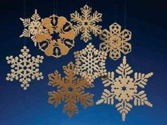 Scroll Saw Woodworking & Crafts - Crystal Lace Ornaments