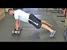 Renegade Rows, integrating a pushup between each row also is a great way to work your chest as well.