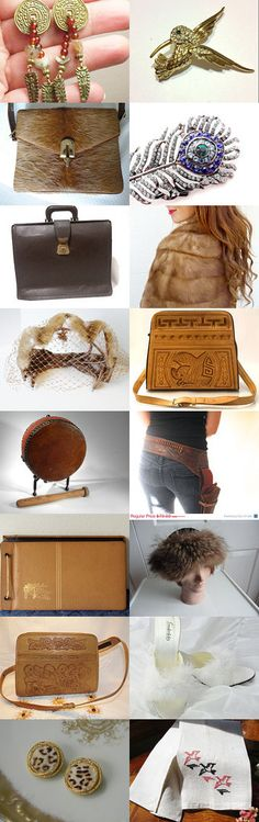 FEATHERS, FUR, HIDES...OH MY!  A Vexplosion Team Treasury by Chris K on Etsy--Pinned with TreasuryPin.com