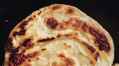 This delicious, roti-esque Flaky Bread recipe comes from Brooklyn's Glasserie.