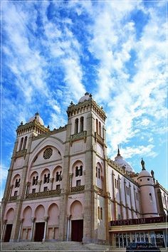 tunisia, Africa... This cathedral is gorgeous ... But it's a bicycle museum now lol been there!!