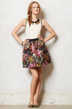 Brocade Bloom Skirt from Anthropologie