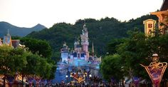 Family fun at Hong Kong Disneyland - International Traveller Hong Kong Disneyland, 10 Anniversary, Disney Christmas, Walt Disney World, Big Ben, Statue Of Liberty, Places Ive Been, Dolores Park, Journey
