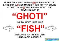 The Enlglish Fish Language