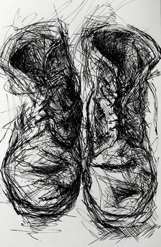 Pen and ink Pinterest inspired sketch by Sidney Tomko