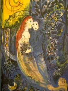 Marc Chagall Limited Edition signed lithograph, title: Wedding $200 -- authentic??