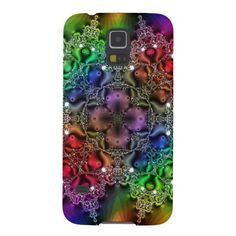 Rainbow Fractal Jewels Tapestry  Galaxy S5 Case