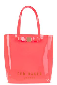 2240838ebb7f3 Ted Baker Solcon Plain Solid Large Icon Bag in Bright Pink.  tedbaker   iconbags