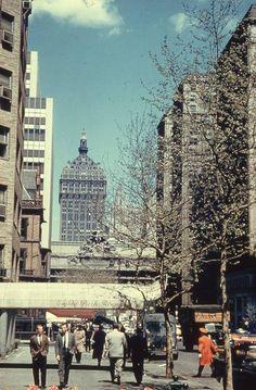 Manhattan: Park Avenue Towards 39th Street -Before The Pan Am Building (1950s)