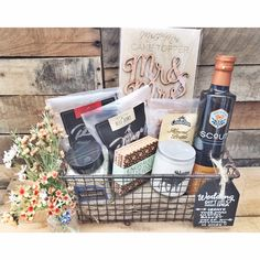 Wedding gift idea. Featuring your favorite central coast products.