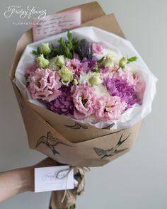 Gorgeous summer gift bouquet.  Роскошный букет из свежих цветов.