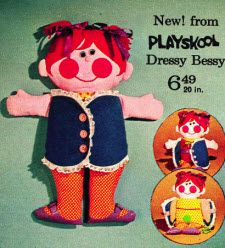 Dressy Bessy..had one when I was a kid. Ahhhh. :)