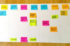 Are you trying to get organized? The Sticky Note Solution helps our busy family stay on track on what needs to get done each week.