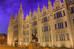Marischal College - Aberdeen Scotland