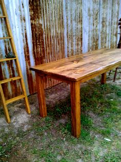 beautiful wood tables