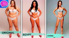 """18 Countries Photoshopped One Woman To Have """"The Perfect Body"""" Ideal Body, Perfect Body, Lose Weight, Weight Loss, Body Shaming, Fad Diets, Lose 20 Pounds, How To Slim Down, Human Rights"""