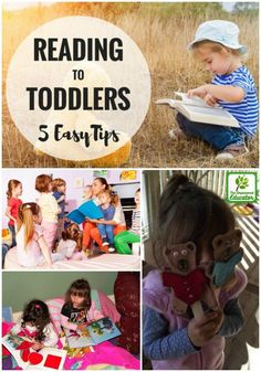 Find out how to read to toddlers and develop their literacy skills and a lifetime love of reading with these 5 easy strategies for early years educators and parents. Literacy Skills, Early Literacy, Preschool Literacy, Teaching Kindergarten, Montessori Activities, Infant Activities, Montessori Homeschool, Toddler Play, Toddler Preschool