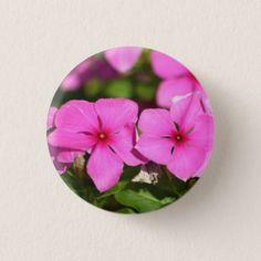 Impatiently Waiting pin - flowers floral flower design unique style