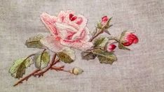 Embroidered Roses, Photo And Video, Painting, Instagram, Needlepoint, Painting Art, Paintings, Painted Canvas, Drawings