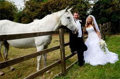 Horsing around at Redhouse Barn Wedding Venue
