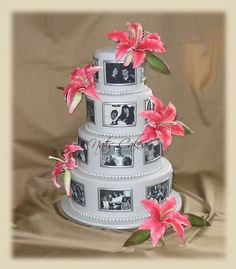 Photo Cake with edible images, learn how to make on our site.
