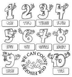 Set of 3 Laminated Alphabet & Number Sheets for Writing