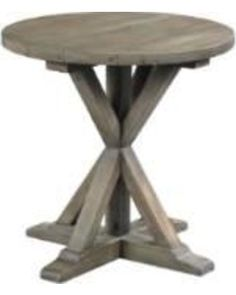 Hammary Reclamation Place Round End Table in Sundried Natural 523 . End Tables, Living Room Furniture, Family Room, Stool, Places, House, Beautiful, Natural, Home Decor